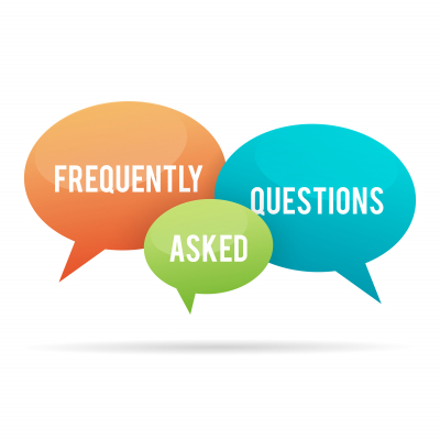 illustration of frequently asked questions, or FAQ